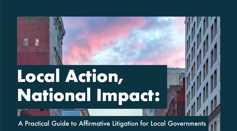 Public Rights Project & Justice Catalyst Release Guide to Help Local Governments Promote Safe and Just Communities